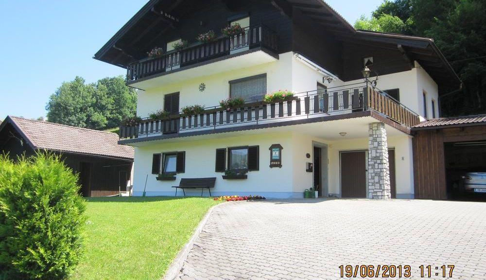 Privathaus Franz Schink Tiefgraben am Mondsee