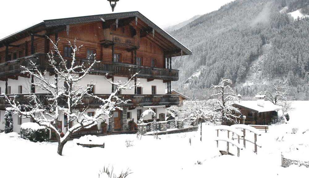 LedererHof Bild # der Willkommensseite - LedererHof Aschau im Zillertal