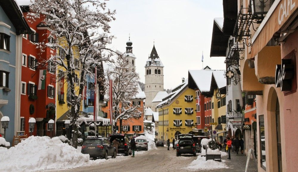 Kitzbühel In winter - Kitzbuehel Tirol