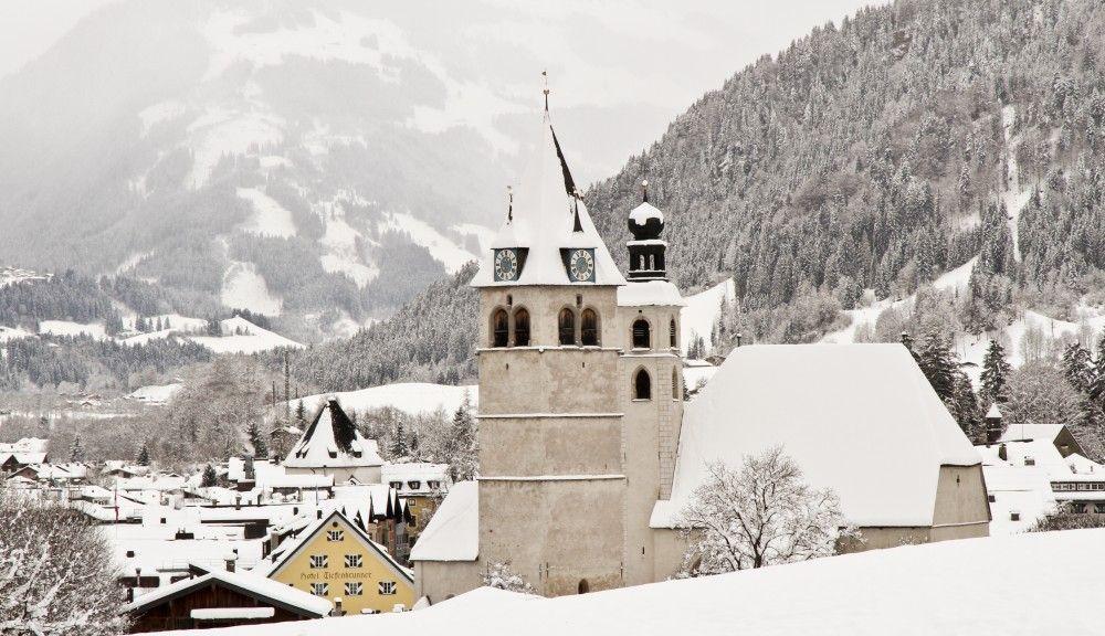 Kitzbühel im Winter - Kitzbuehel Tirol