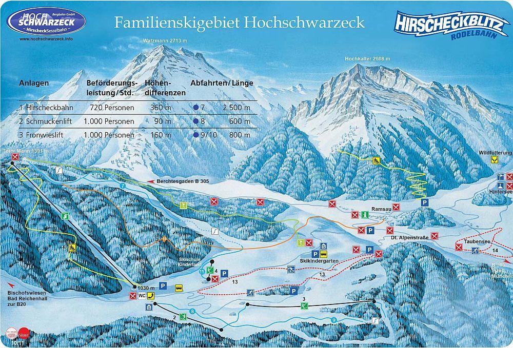 Berchtesgaden - Ramsau/Hochschwarzeck Ramsau