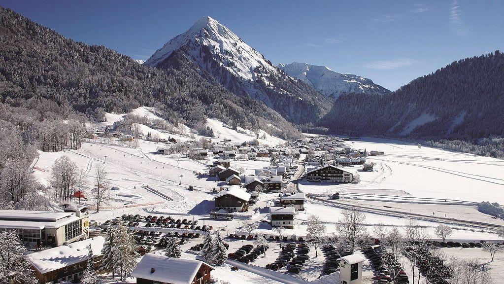 Tiefer Winter in Schoppernau