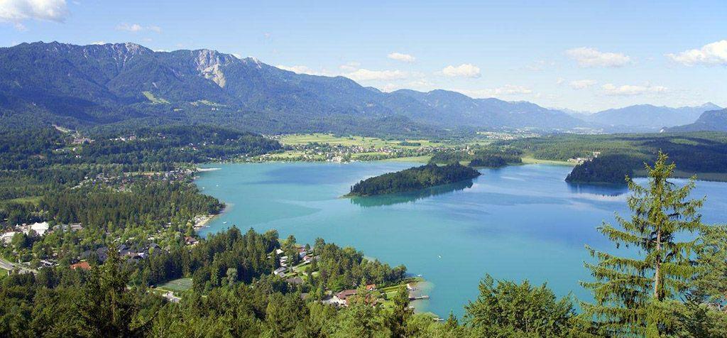 Ausblick-Taborhöhe - Faaker See Faaker See