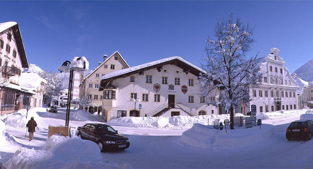 Das Zentrum der Marktgemeinde Reutte... - Reutte Tirol