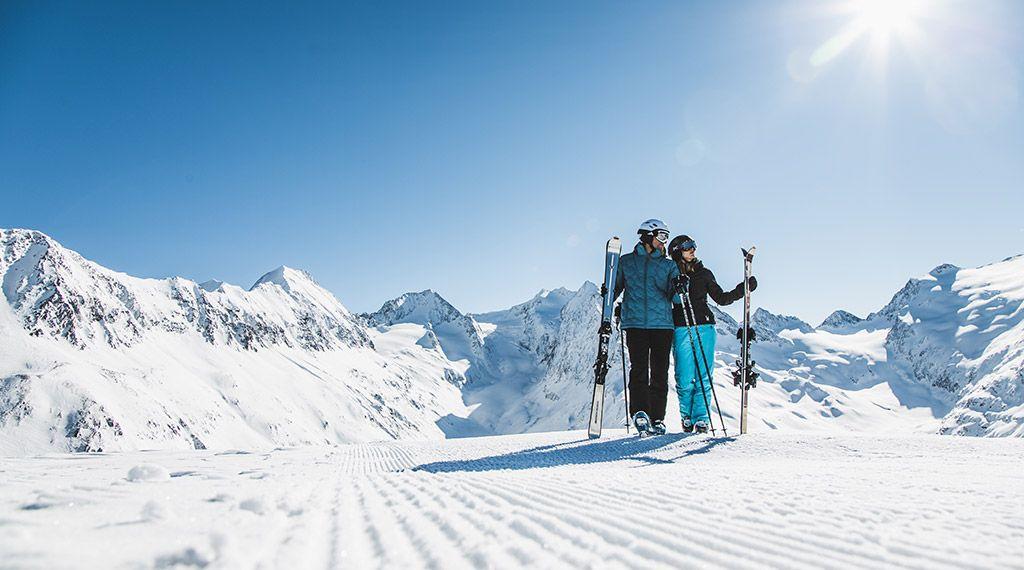 Sonnenskilauf in Obergurgl-Hochgurgl - © Ötztal Tourismus/Christoph Schöch - Obergurgl-Hochgurgl Tirol