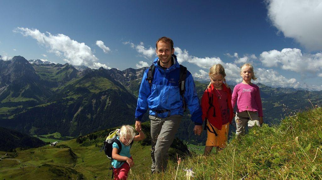 Wandern am Diedamskopf