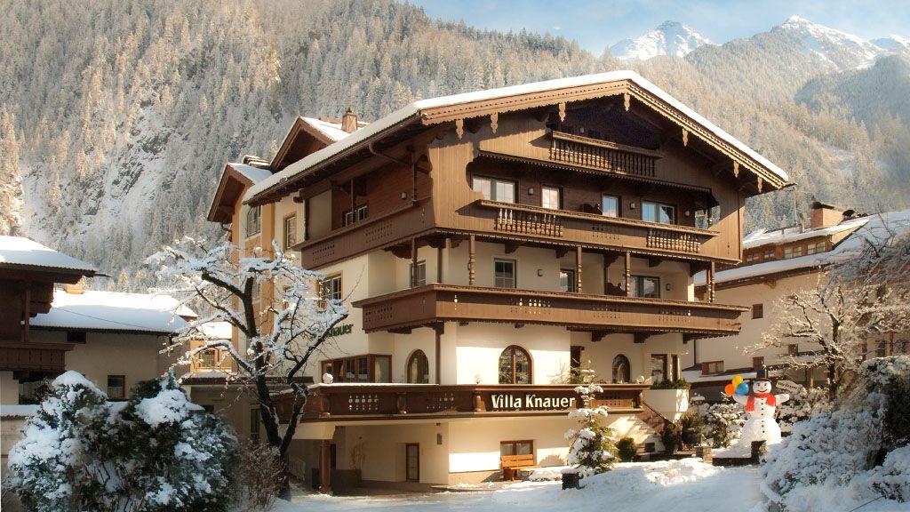 Hotel garni Villa Knauer Mayrhofen - Appart & Hotel garni VILLA KNAUER Mayrhofen