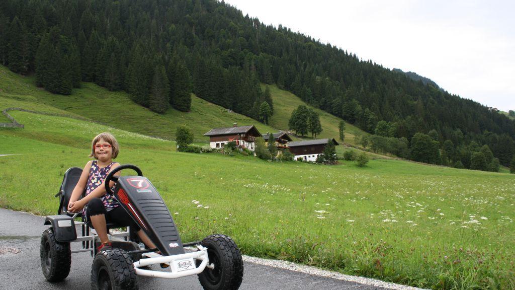 Gokart-Spass / Oberauhof - Urlaub am Oberauhof im Salzburger Land Kleinarl