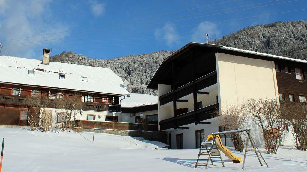 Unser Haus im Winter - Pension & Ferienwohnung Sonnleiten Gnesau