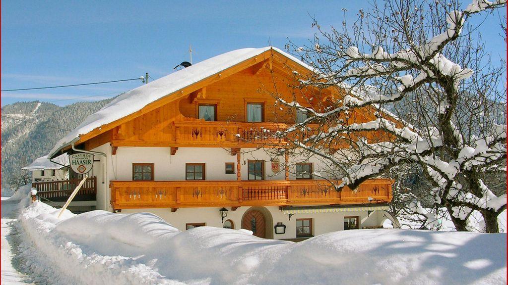 Im Winter - Gasthof Haaser Brandenberg