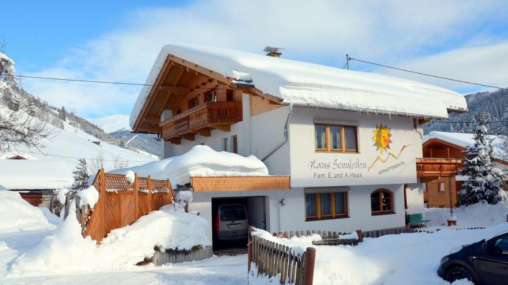 Haus Sonnleiten wintertime - Haus Sonnleiten Gerlos