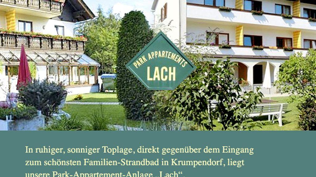 Hauptansicht Häuser Überblick - Park Appartements Lach Krumpendorf