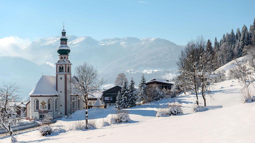 Oberau Dorf Wildschönau - Wildschoenau - Oberau Tirol