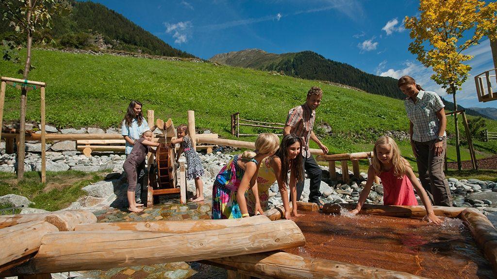 ein Naturparadies für Kinder - © Tourismusverband Paznaun – Ischgl