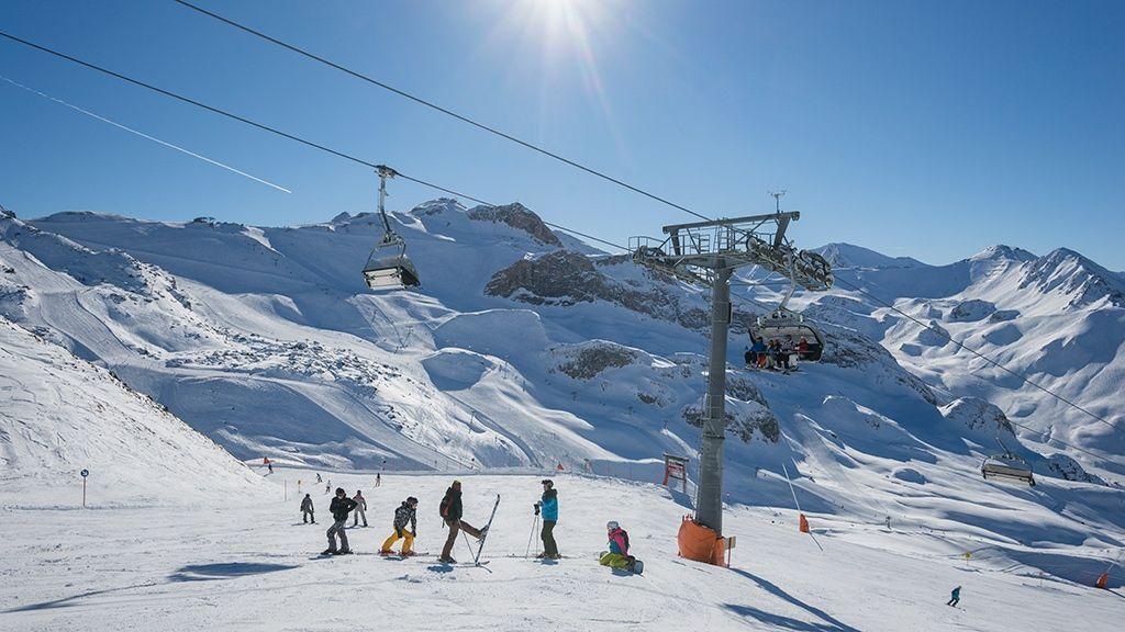 Skiurlaub mit der Familie - © Tourismusverband Paznaun – Ischgl