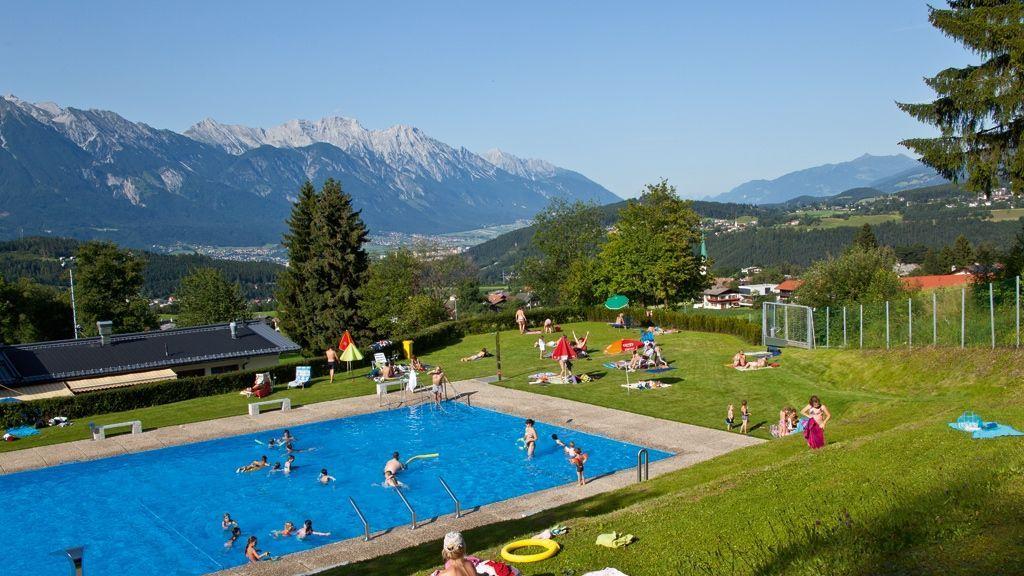 Freibad in Mutters - Foto: Innsbruck Tourismus