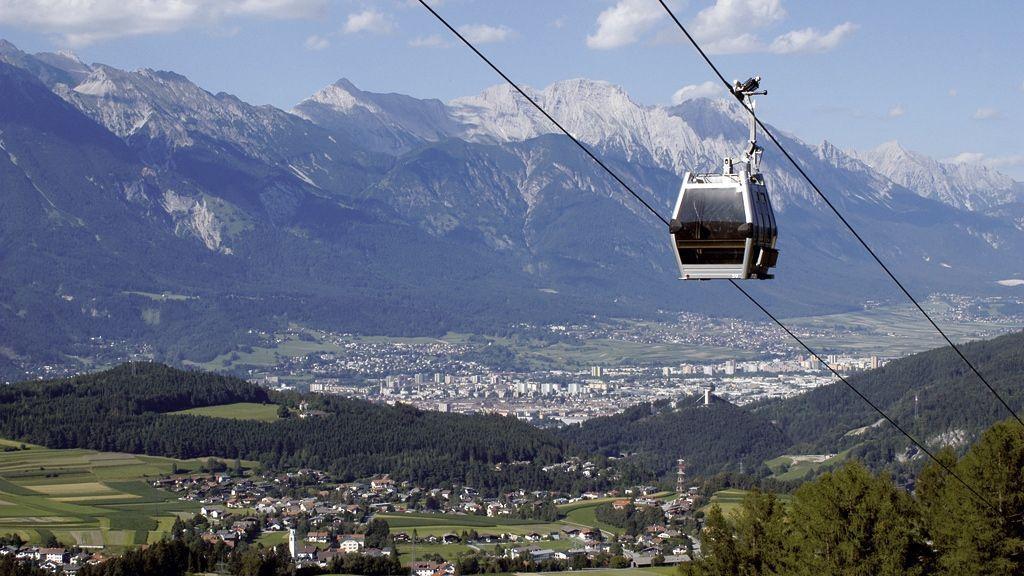 Blick auf Innsbruck und die Nordkette - Foto: Innsbruck Tourismus