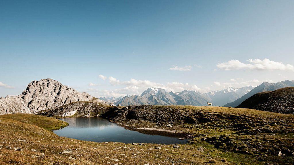 kleiner Gebirgssee - Foto: TVB Stubai/Andre Schoenherr