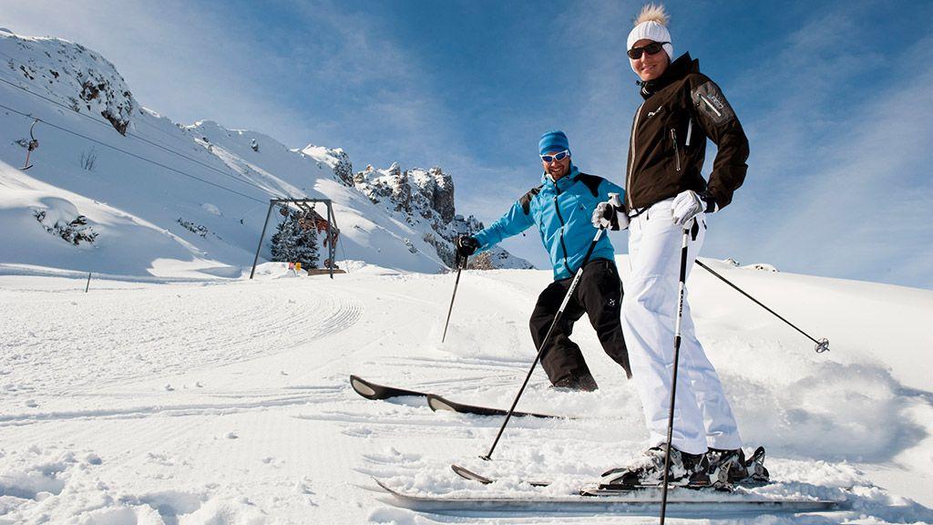 Skifahren am Hausberg Elfer - © TVB Stubai Tirol - Neustift im Stubaital Tirol
