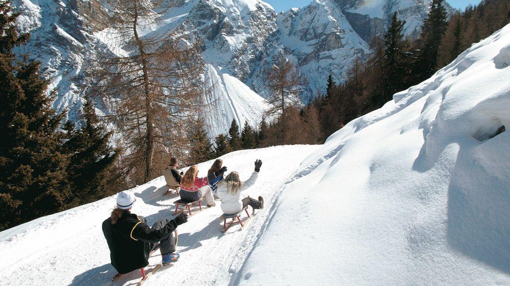 Rodelbahn am Elfer - © TVB Stubai Tirol - Neustift im Stubaital Tirol
