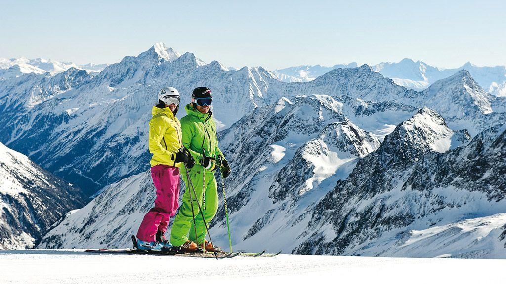 Skifahren - © TVB Stubai Tirol - Neustift im Stubaital Tirol