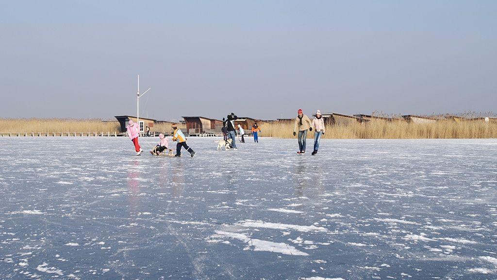 Winteraktivitäten am Eis - Foto: NTG/steve.haider.com