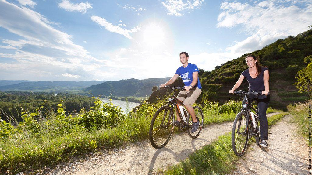 Radfahren in der Wachau - Wachau-Nibelungengau-Kremstal Niederoesterreich