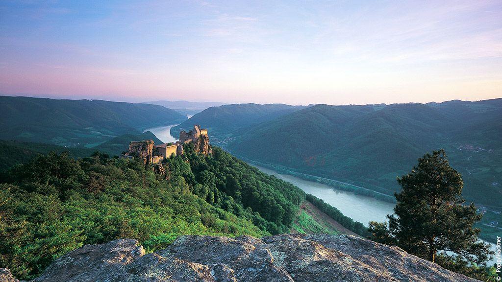 Burgruine Aggstein - Wachau-Nibelungengau-Kremstal Lower Austria