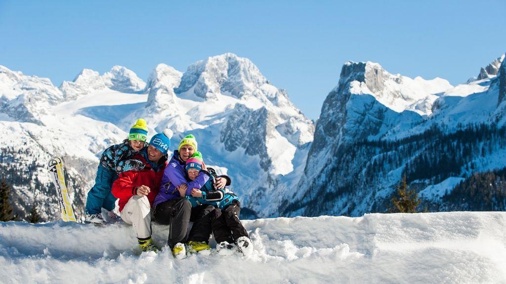 Skiurlaub mit der Familie im Salzkammergut - Foto: OÖ Tourismus