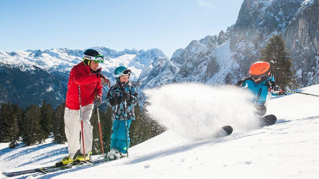 Skispaß im Salzkammergut - Foto: OÖ Tourismus