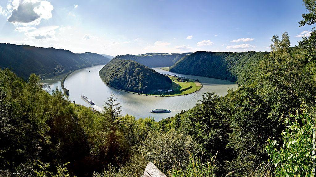 Schlögener Schlinge - Donau Oberoesterreich Oberoesterreich