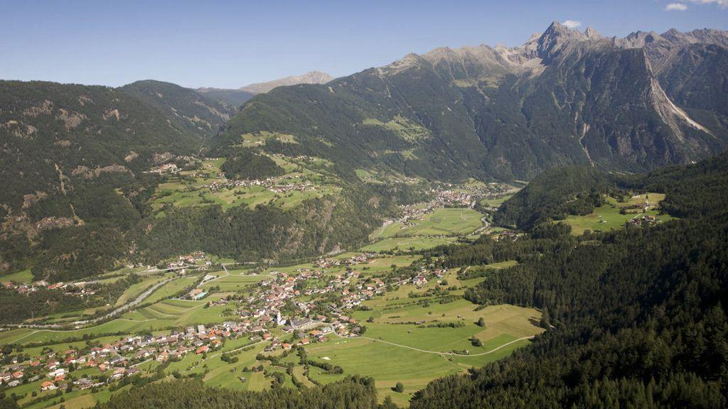 Ötztal Luftaufnahme © Oetztal Tourismus/G.E.