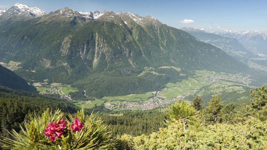 Oetz Aussichtspunkt Rotes Wandl © Ötztal Tourismus/Ewald Schmid