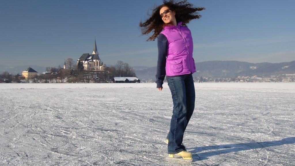 Eislaufen am Wörthersee - © Bildarchiv Wörthersee Tourismus GmbH