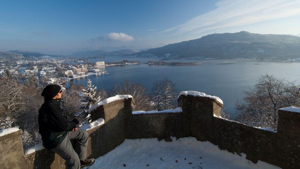 Winterlandschaftsbild Wörthersee - © Bildarchiv Wörthersee Tourismus GmbH