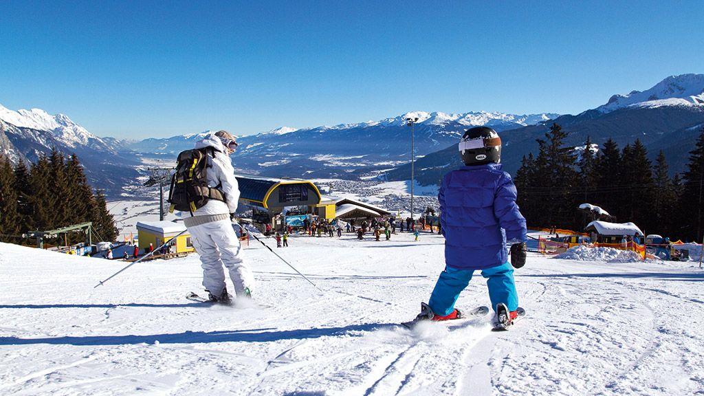 Skigebiet Rangger Köpfl - © Innsbruck Tourismus - Innsbruck  /  Feriendoerfer Tirol