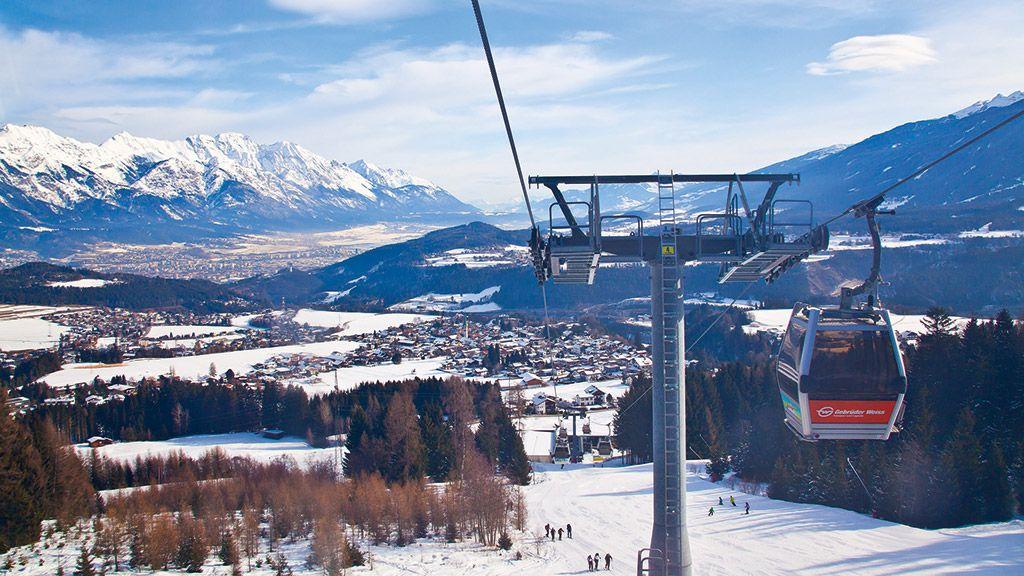 Seilbahn auf die Mutterer Alm - © Innsbruck Tourismus - Innsbruck und seine Feriendoerfer Tirol