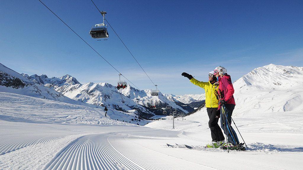 Skigebiet Kühtai - © Innsbruck Tourismus - Innsbruck und seine Feriendoerfer Tirol