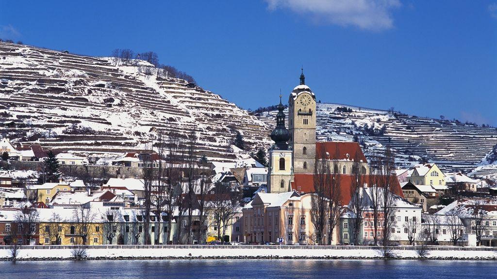Winterstimmung an der Donau © Donau Niederösterreich / Gregor Semrad
