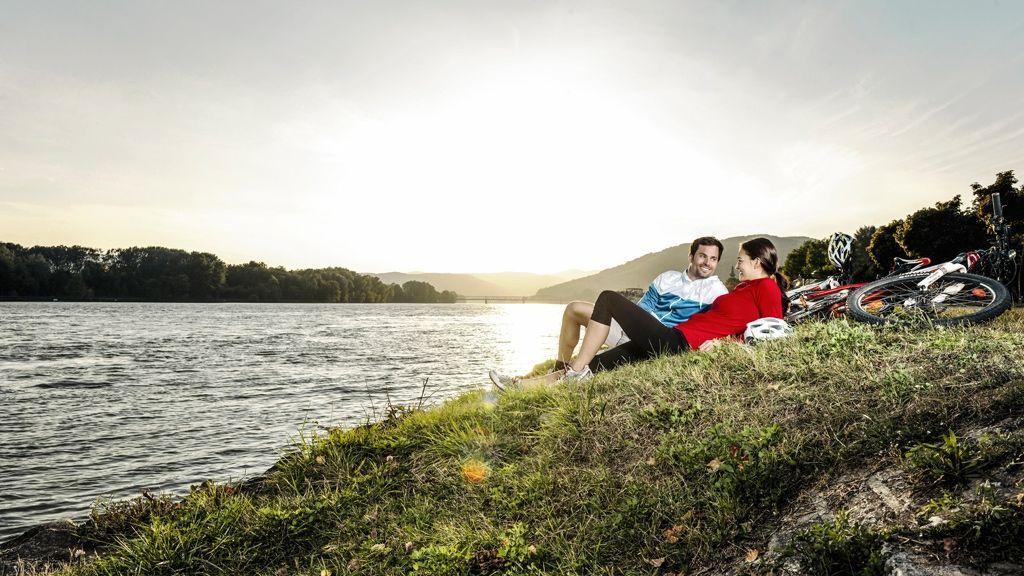Radtour entlang der Donau © Donau Niederösterreich / Steve Haider