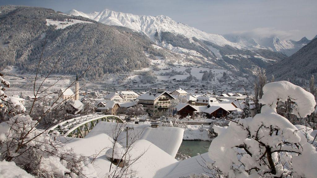 Prutz im Winter - Foto: TVB Tiroler Oberland