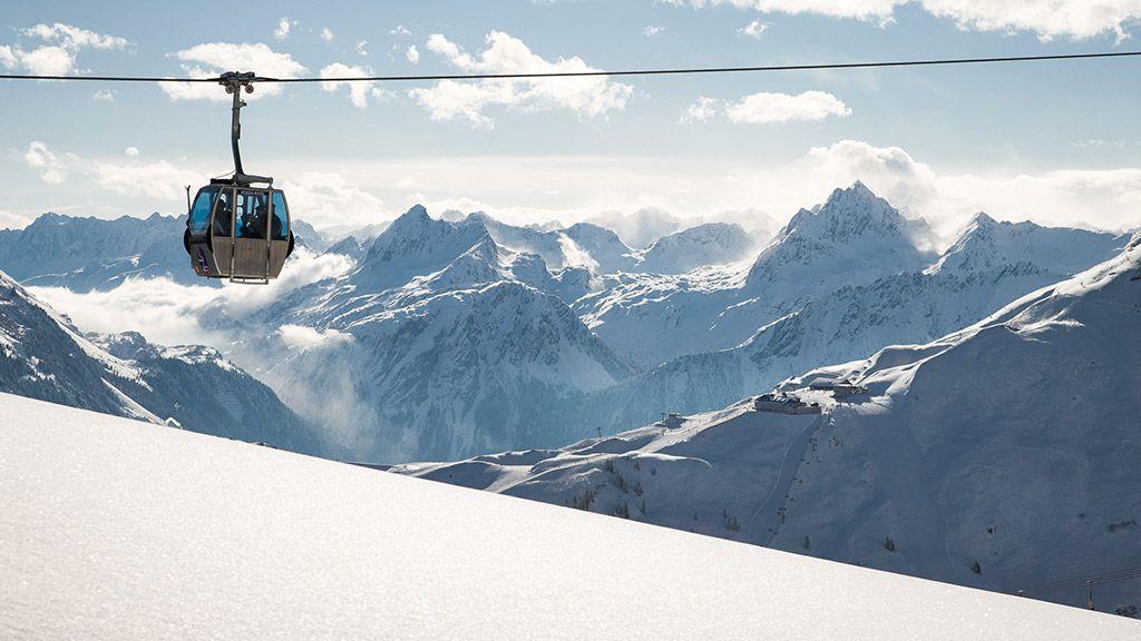 Ein traumhafter Wintertag in der Silvretta Montafon - © walser image/Vorarlberg Tourismus - Vorarlberg