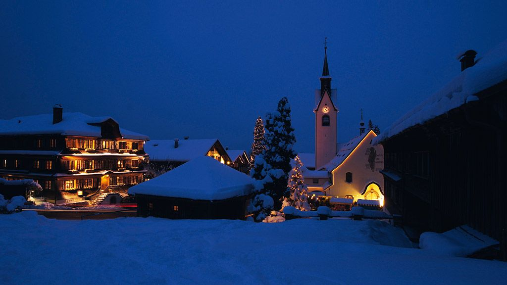 Weihnachtsmarkt in Schwarzenberg/Bregenzerwald - © Ludwig Berchtold/Vorarlberg Tourismus - Vorarlberg