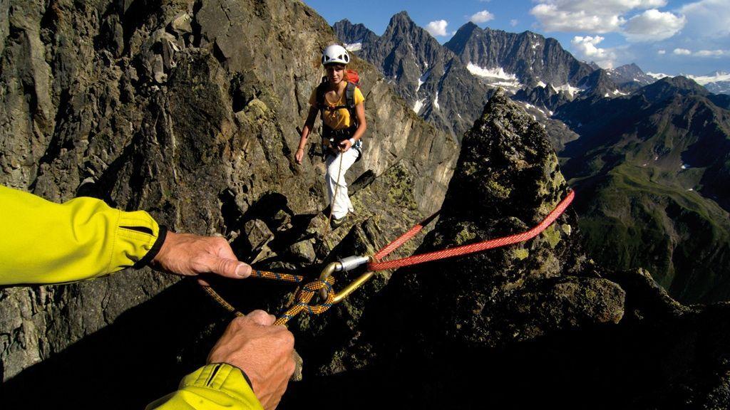 Bergsteigen im Kaunertal - Copyright: TVB Tiroler Oberland