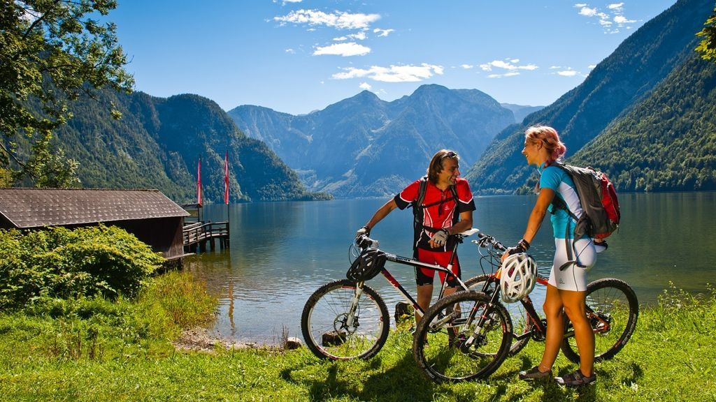 Mountainbiken Dachstein - Foto: OÖ Tourismus