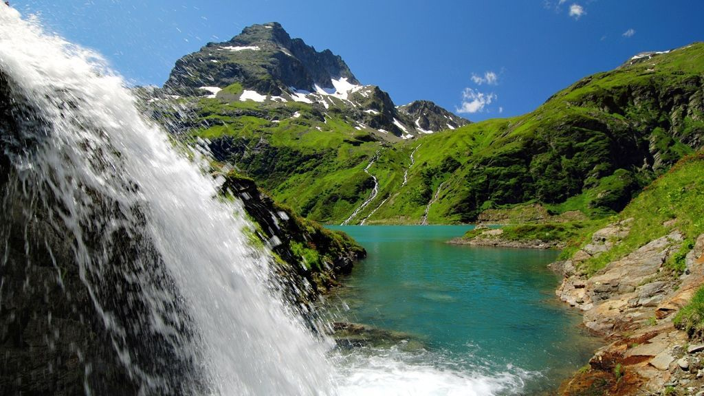 Kartellsee im Wandergebiet von St. Anton am Arlberg - Bildnachweis: TVB St. Anton am Arlberg / Wolfgang Burger