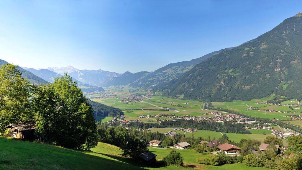 Zillertal Panorama - Foto: TVB Fügen