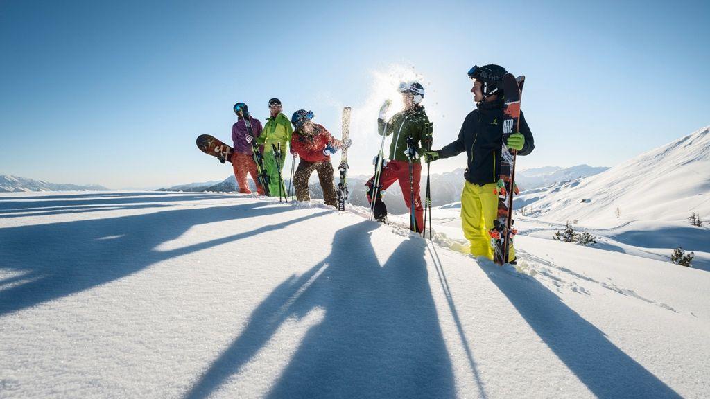 Skifahren in Flachau - Foto: Tourismusverband Flachau