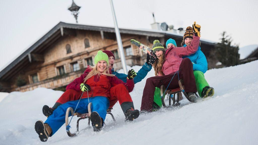 Rodelspaß - Foto: Tourismusverband Flachau