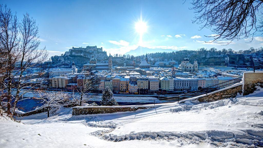 Winter in Salzburg - © Tourismus Salzburg